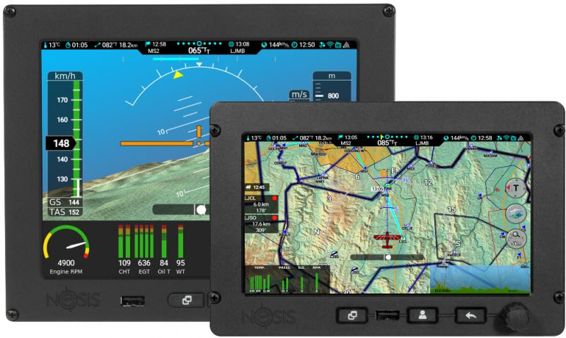Nesis, flight navigation system by Kanardia.