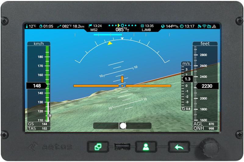 Aetos, flight and engine system by Kanardia.