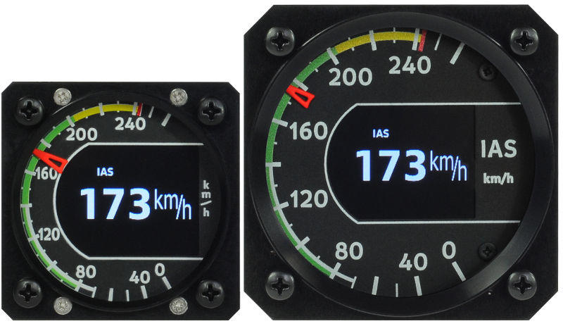 Indu Airspeed Indicator by Kanardia